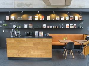 カフェスペースが完成しました