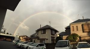 虹 ~虹をみて思う事~