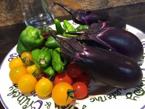 採れたて野菜で簡単!夏野菜アヒージョ