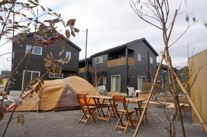 テントを干すことが出来る分譲住宅って良いと思う